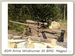 EDM Arms Windrunner 50 BMG  Magpul FDE