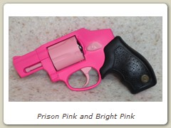Prison Pink and Bright Pink